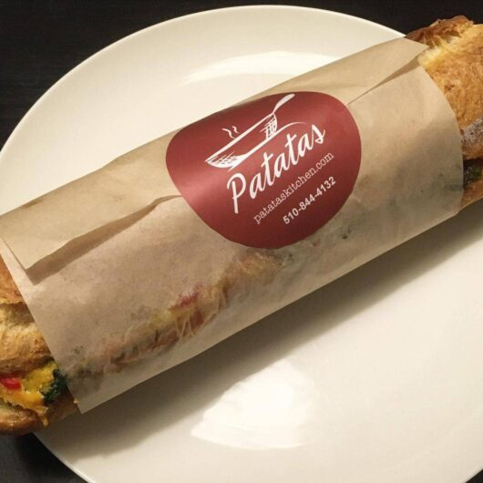 Frittata Sandwich - Patatas Kitchen