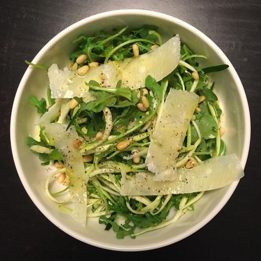 Arugula Salad with Parmigiano Reggiano
