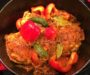 Chicken and Pepper Curry With Thai Curry Paste Substitute